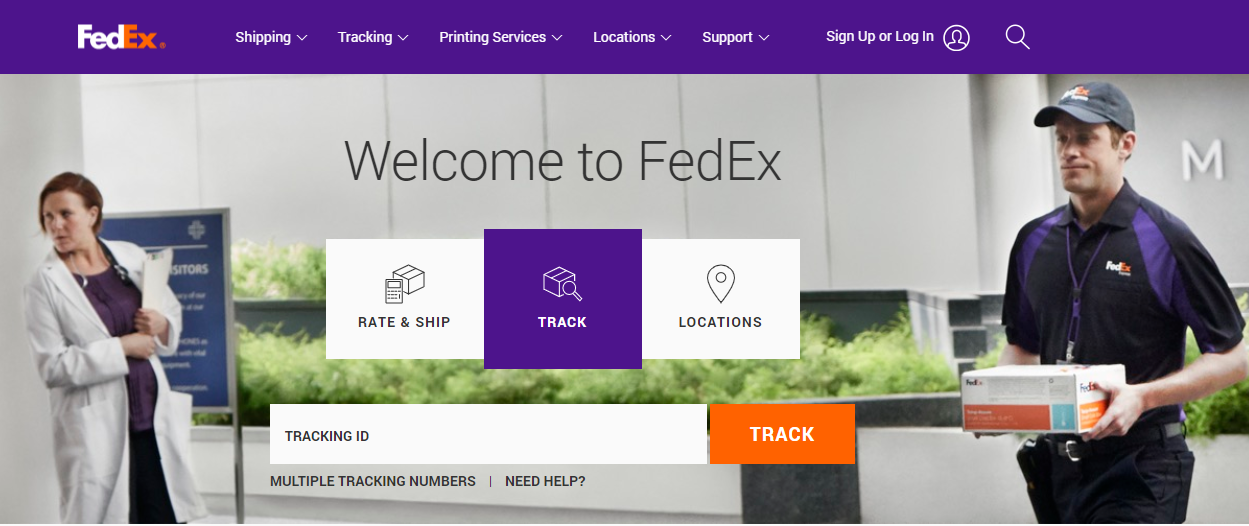 How do I request to hold a wine order at a FedEx location